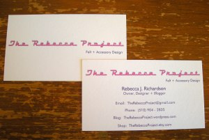 New US business cards