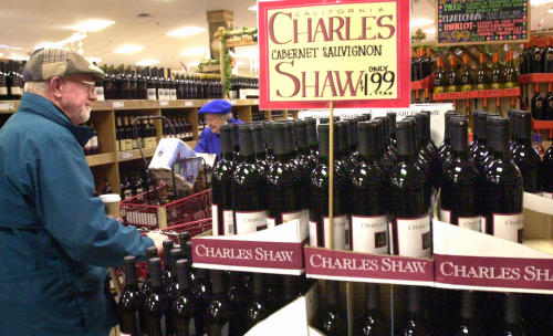 Charles Shaw: Two Buck Chuck.