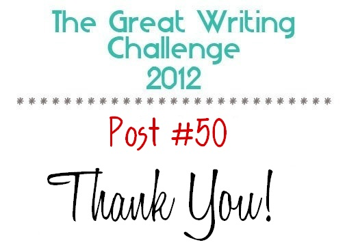 Post #50: Thank You!