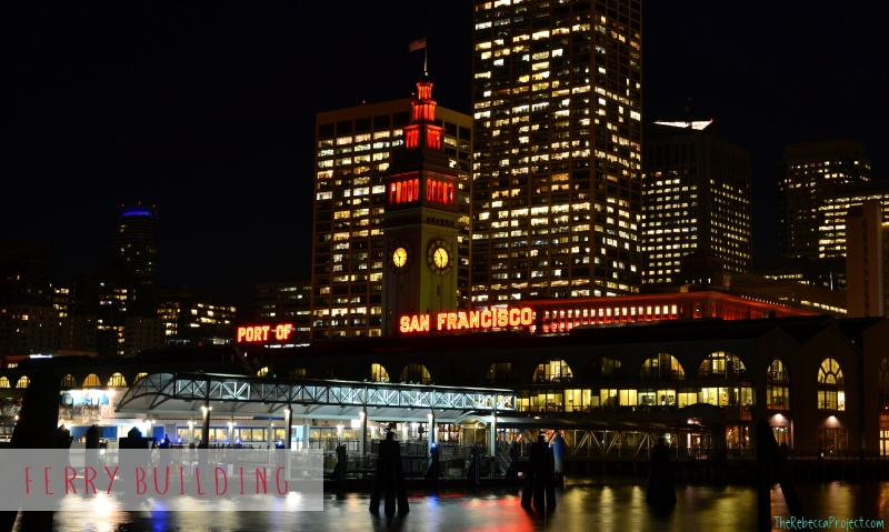 The Ferry Building is a foodie heaven.