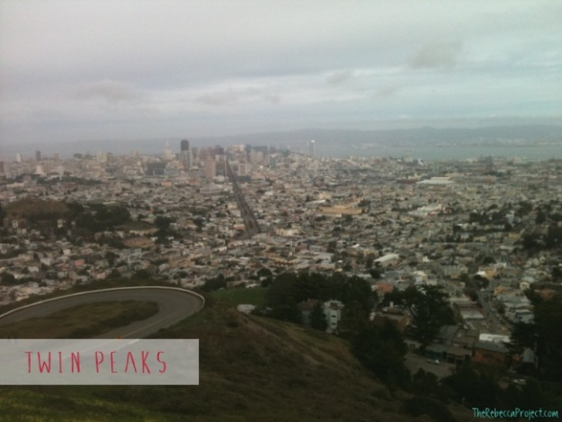 The view from Twin Peaks.