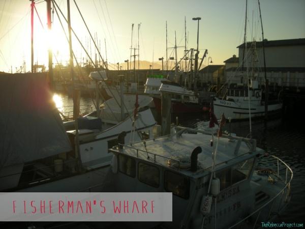 Fisherman's Wharf is still a working wharf