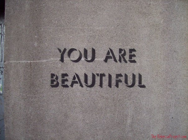 Yes. You are beautiful.