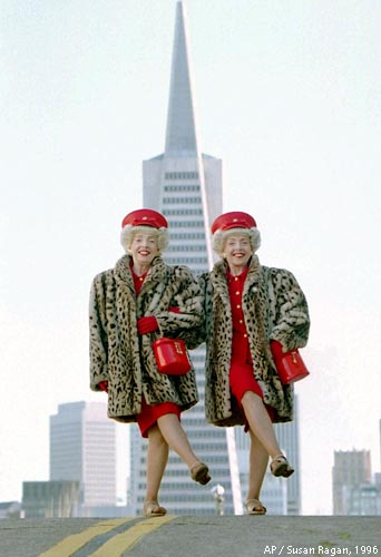 The Brown Twins: as San Francisco as the TransAmerica Pyramid.