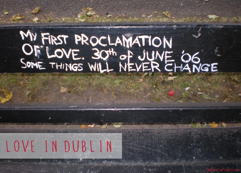 Love, Dublin-style.