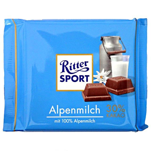 Ritter Sport: my current drug of choice.