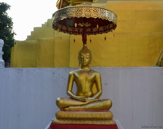 Buddha gets around.