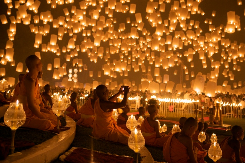 What the Yee Peng festival looks like.