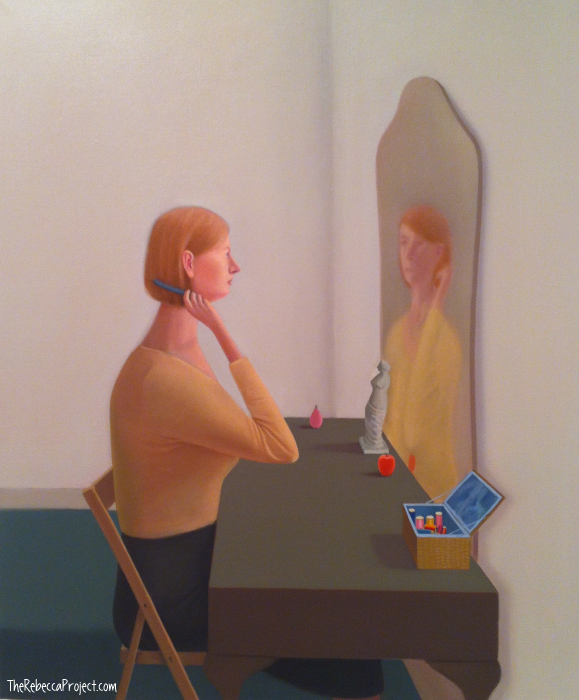 Prudence Flint, 'Queen Anne mirror'
