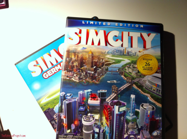 My brother even bought me a present: the newest Sim City, with a German Cities expansion pack. Be surprised if you hear from at all!