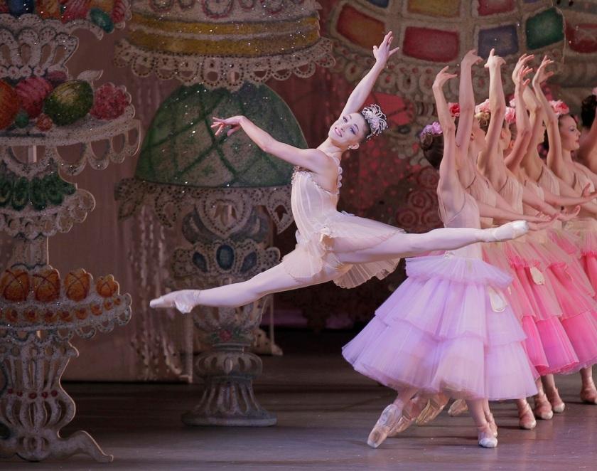 Ashley Bouder as Dewdrop in George Balanchine's THE NUTCRACKER Act II Choreography George Balanchine  ?? The George Balanchine Trust New York City Ballet   Credit Photo: Paul Kolnik studio@paulkolnik.com nyc 212-362-7778